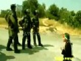 5 Year Old Palestinian Child Jenny Confronts Israeli Soldiers