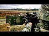 50 Caliber Machine Gun Humvee During Live-fire