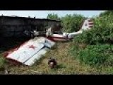 Yak-52 Plane Crash In Samara Russia. July 2015
