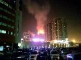 Blaze At Sharjah Skyscraper Guts Three Floors, Forces Evacuations