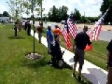 Veterans Show Obama How They Turn Their Backs On Him, As He Has Done To Them