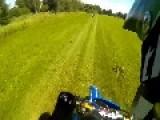 Yamaha Motorcycle Crashes Into Motorcycle From Behind