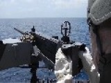 50 Caliber Weapon Fired At Sea As U.S. And Dominican Republic Coast Guard Train To Fight Cartels