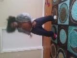 Boy Dances His Butt Off