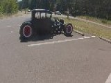 50's Style Rod ,this Time With Camera Falling Off On Highway TOUGH!!