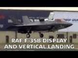 RAF F-35B Lightning II Display At Air Tatto 2016