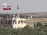 FSA Hit SAA Tank With ATGM Malyutka In Meng Airbase. Snackbar Warning!
