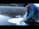 Fun With Burning Methane On A Lake