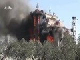 *FSA REBELS BURN CHURCH TO SEND SYRIAN CHRISTIANS A MESSAGE
