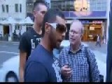 Muslim Men In Australia Showing Normal Muslim Tollerence And Restraint
