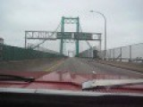 68' Polara Across Vincent Thomas Bridge