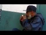 Homeless Guys Smoking Crack In Public, Tenderloin SF