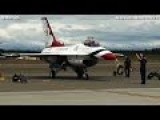 MAGIC AIR FORCE THUNDERBIRDS Arrive At Alaska Joint Base For Airshow