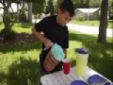 60 Year Old Man Fights To Shutdown A 12 Year Old's Lemonade Stand