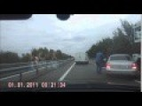 Russian Trucker Is Mad As Hell And He's Not Going To Take This Anymore