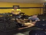 Teen Can't Do Box Jumps