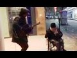 Homeless And Wheelchair-bound Man Amazing Music Skills