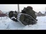 Homemade Russian Tank
