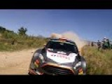 Dude Almost Hit By WRC Car