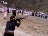 AK 47 At Saudi Wedding & More