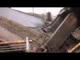 Bridges Blown Up By Rebels