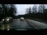 Karma Served On A Silver Platter For A Speeding Idiot
