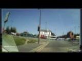 Lorry Crash Caught On Dashcam