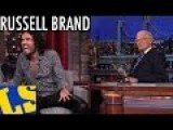 Russell Brand Starts A Revolution - David Letterman