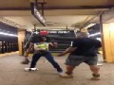 Dude Fighting With A Tranny In Zoo York