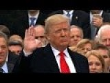 Donald Trump Sworn In As 45th US Preisdent