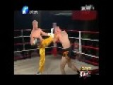 Shaolin Monk Knocked Out By Muay Thai