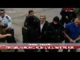 Golden Dawn Leader And Members Head Whit Handcuffs At Court