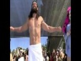 Strange Gay Costume Contest With Jesus