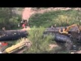 6 Cars Of Oil Crude Train Derail In Colorado