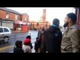 Allah Akbar School Kids In Bolton, England