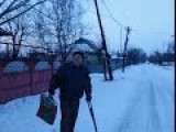 Eng Subs Donetsk. Old Man Nikolai And UAF Shell Strike. Video By Graham Phillips