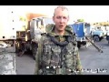 18+ Eng Subs Militias Found Truck With Russian Humanitarian Aid For Donetsk On Captured UA Army Automobile Base