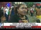 'You Wanna Make Fabricated Story!': Charlotte Protester Confronts Fox Reporter