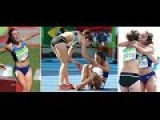 US And New Zealand Runners Help Each Other After Fall In 5000m
