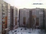 Russian Separatists Firing Grad Missiles Near A Apartment Building