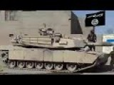 ISIS Capture A US Made M1 Abrams Tank After Ambush On Iraqi Army In Ramadi Area