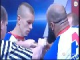 Arm Wrestling: White 70 Kg Guy Vs 110 Kg Islamic One - Who Will Win?