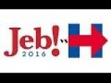 ® Jeb Bush VS Hillary Clinton !!!! 2016