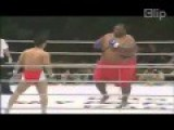 75 Kg Versus 275 Kg In Boxing By Knockout