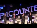 Convention Quartet As Donald Trump Singing Build The Wall