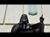 Darth Vader Invades Lvov - 'Welcome To The Dark Side'