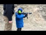 7 Year Old Kid First Training With MP5 .22lr