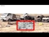 Extreme Large Fleeing ISIS Convoy Gets Totally Annihilated By Iraqi Mi-28 Havocs