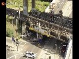 Truck Wedged Under Bridge Recovery In Time Lapse Enjoy