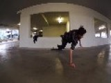 Skateboard Flip Fail
